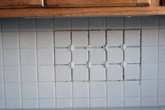 Kitchen tile job