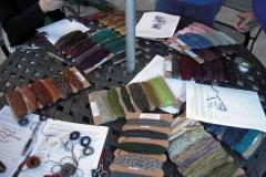 Yarn tasting May 2009